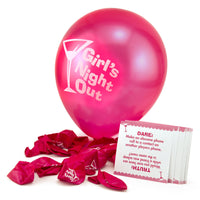 Pop The Decorative Balloon & Get a Dare -Balloon and Dare Cards