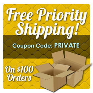 Free Priority Shipping For Orders Over $100