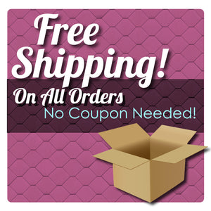Free Shipping With Any Order