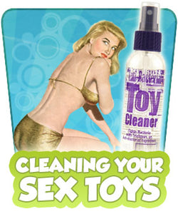 How do I Clean My Sex Toys?