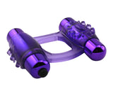 Purple Duo Vibrating Ring - Vibrators.com Vibrator Experts