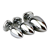 Chrome Heart Butt Plug Set - Vibrators.com Vibrator Experts