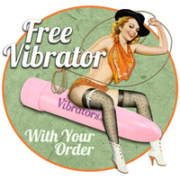 Free Vibrator With Your Order - Vibrators.com Vibrator Experts