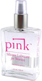 Pink - Silicone Lubricant for Women - Vibrators.com Vibrator Experts