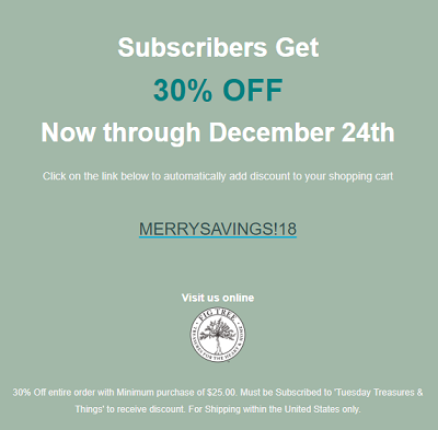 MERRY SAVINGS!
