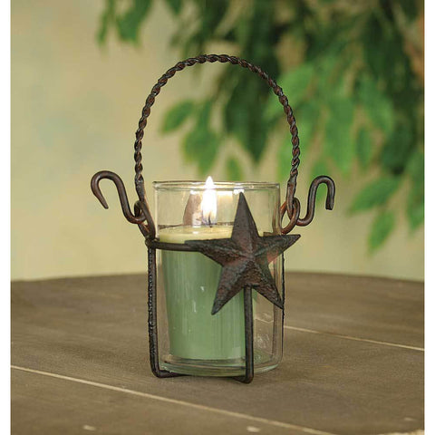 Rustic Star Votive Holder - FIG TREE ~Treasures for the Heart & Home~™