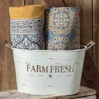 Farm Fresh Oval Pail - FIG TREE ~Treasures for the Heart & Home~™