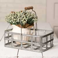 Old-Fashioned Market Basket with Handle - FIG TREE ~Treasures for the Heart & Home~™