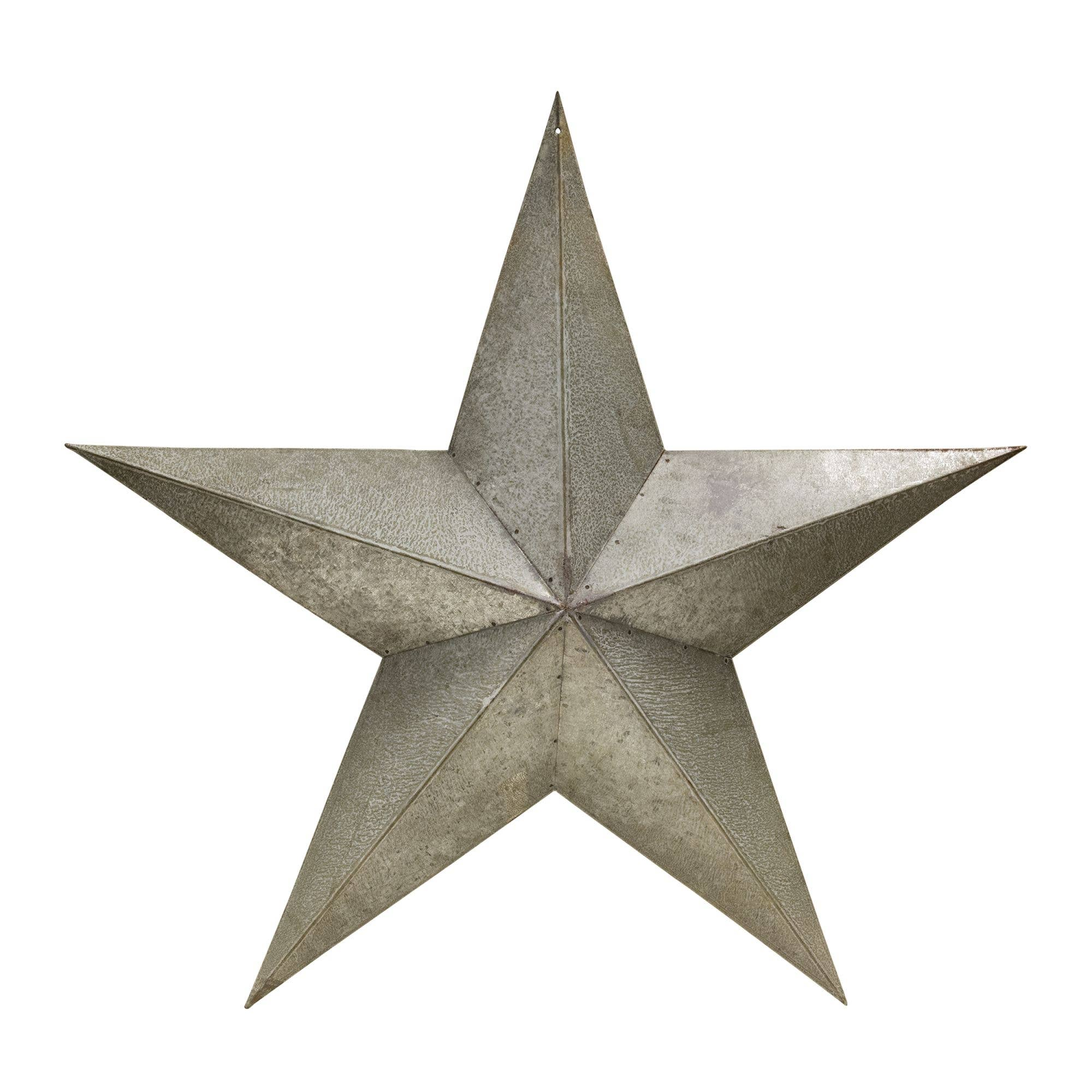 "Galvanized Barn Star - 24"" - FIG TREE ~Treasures for the Heart & Home~™"