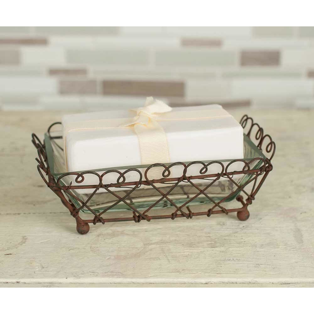Looped Square Soap Dish - FIG TREE ~Treasures for the Heart & Home~™