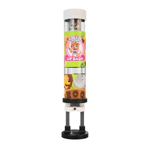 Lip Balm Dispenser - Zoo Theme
