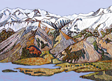 Alpine Lake Limited Edition Art Print