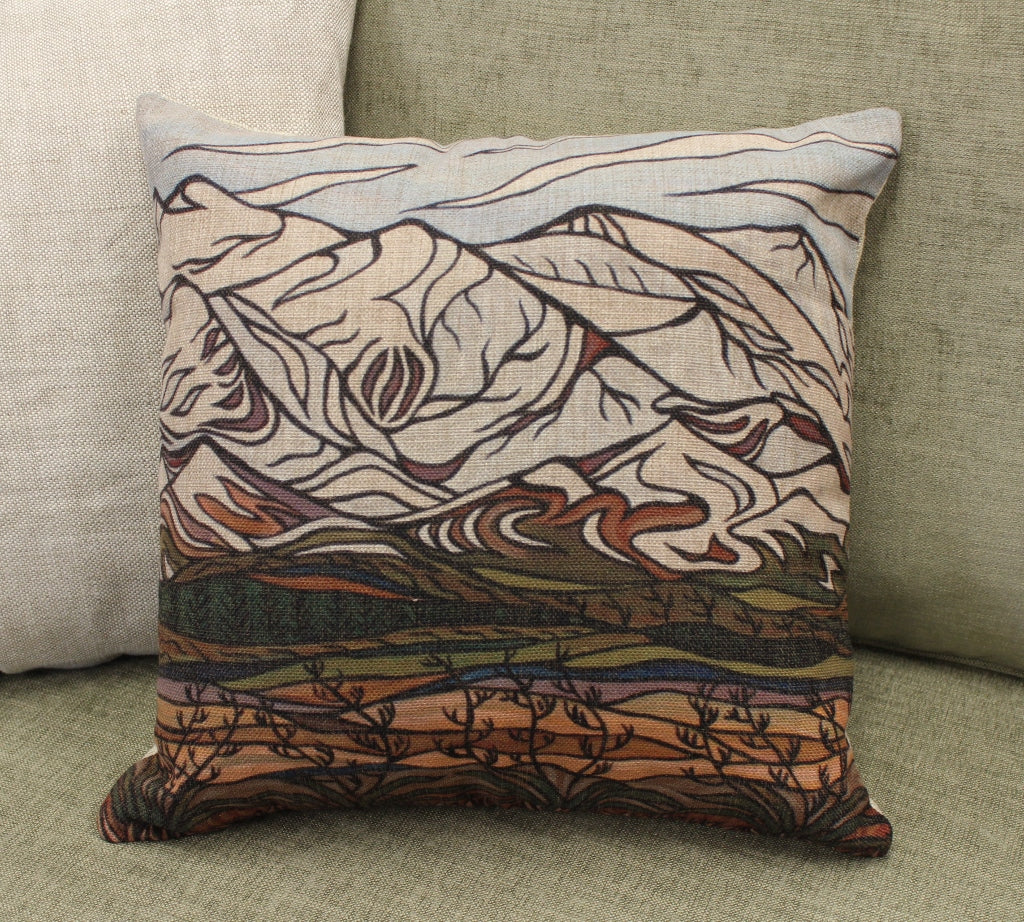 Desert Road Cushion Cover