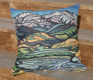 Lyrical Lines Cushion Cover