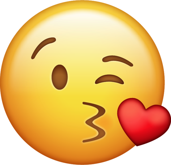 Kissing Emoji Range
