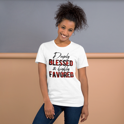 Blessed & Favored Tee