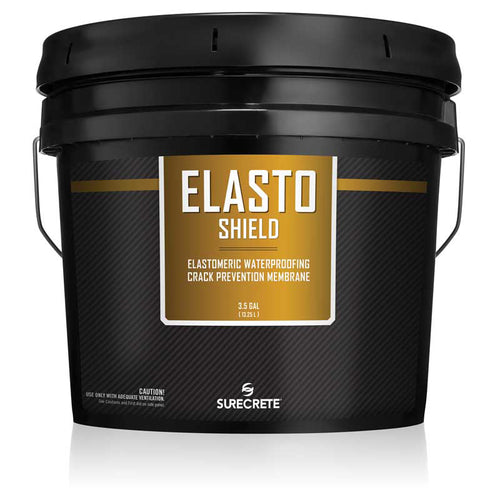 Surecrete ElastoShield Elastomeric Rubber Membrane - 3.5 Gallon