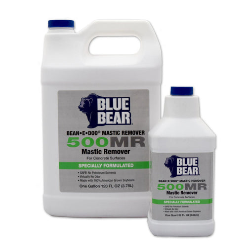 500MR Blue Bear Mastic Remover