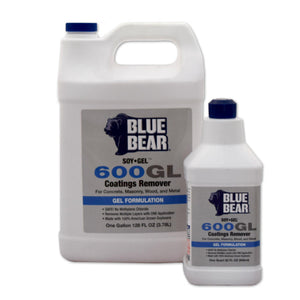 600GL Blue Bear Coatings Remover