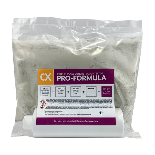 CX Pour-In-Place Concrete Countertop Pro-Formula