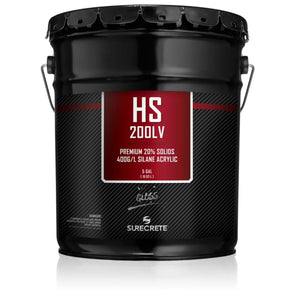 5 Gallon Surecrete HS 200LV Gloss Sealer