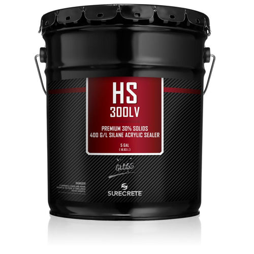 5 Gallon Surecrete HS 300LV Gloss Sealer