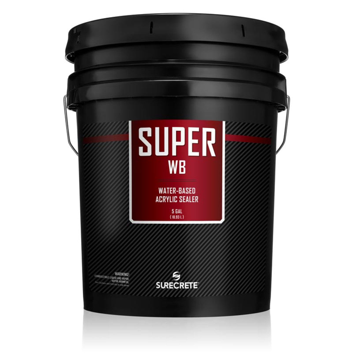 Surecrete Super WB Water-Based Clear Acrylic Concrete Sealer - 5 Gallon
