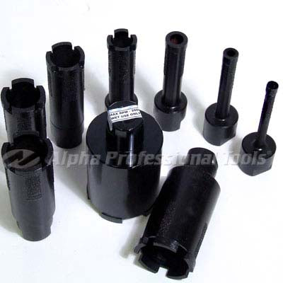 Alpha® Wet Core Drill Bits