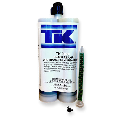 TK Products TK-9030 Polyurea Concrete Crack Repair System - 20 ounces