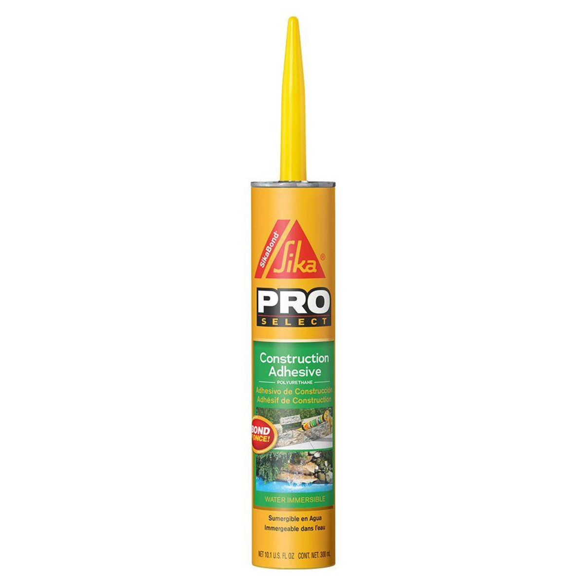 SikaBond Construction Adhesive (10.1oz)