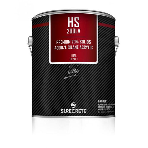 1 Gallon Surecrete HS 200LV Gloss Concrete Sealer