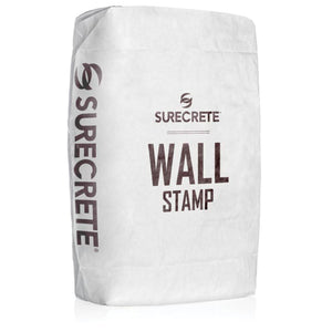 Wall Stamp Vertical Concrete Overlay by Surecrete