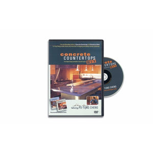 """Concrete Countertops DIY"" Instructional Video, DVD format"