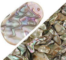 "Abalone ""Mother of Pearl"" Aggregate - 0.25 lb"