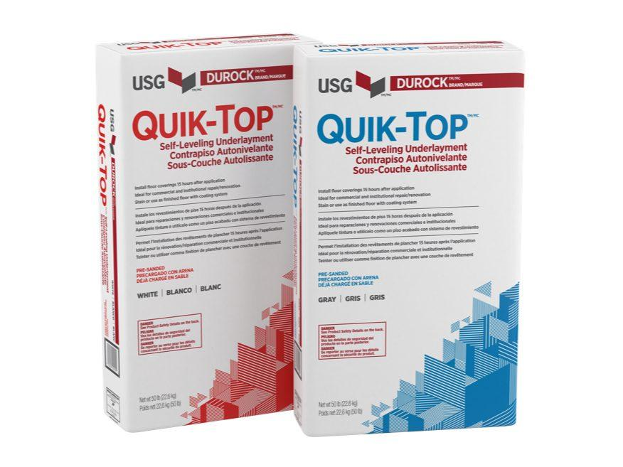 FULL PALLET USG Quick-Top (Gray) Self-Leveling Underlayment (56 bags)