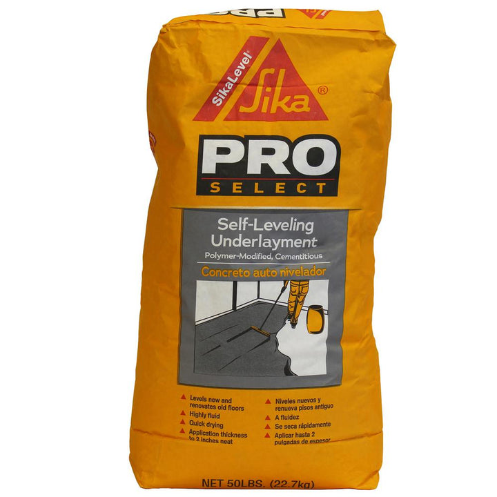 Tec self leveling underlayment 5 gallon stain