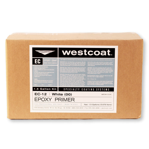 Westcoat EC-12 100% Solids CLEAR Epoxy Primer 1-1/2 Gallon Kit