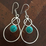 GCG Basics - Turquoise Earrings Earrings