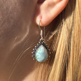 GCG Basics - Larimar Silver Earrings