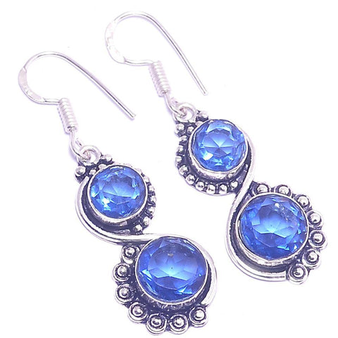 Gulf Coast Gems BOHO GCG Basics Powder Blue Earrings Earrings