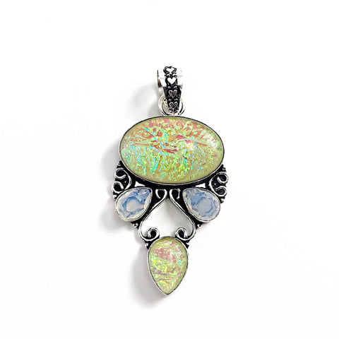 Gulf Coast Gems BOHO GCG Southern Lights Buttercream Pendant Pendants
