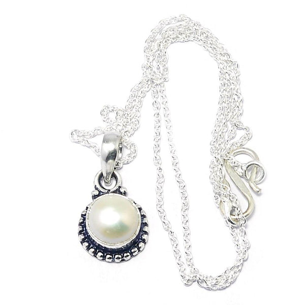 Gulf Coast Gems BOHO GCG Vintage Pearl dainty necklace Necklaces