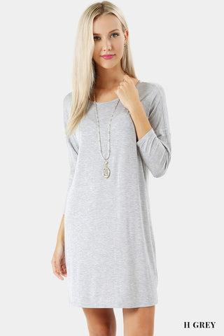 Long Sleeve Dress 2 Colors Available