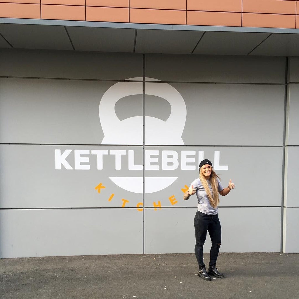 Carley Jones Kettlebell Kitchen