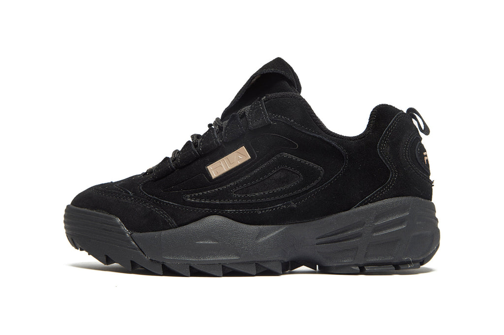 Black Fila Disruptor 2 dad trainer