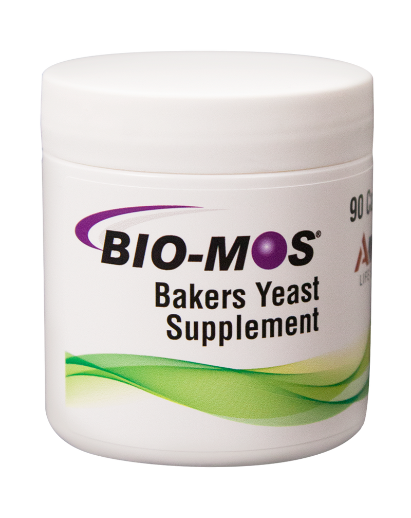BIO-MOS Health Supplements - 3 month supply (1 box of 90 capsules)