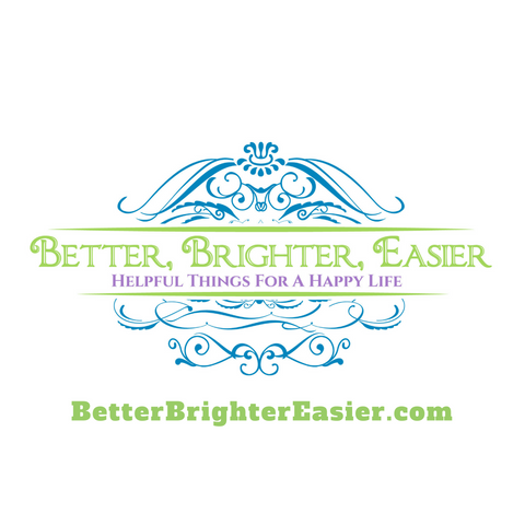 Better Brighter Easier logo and web address