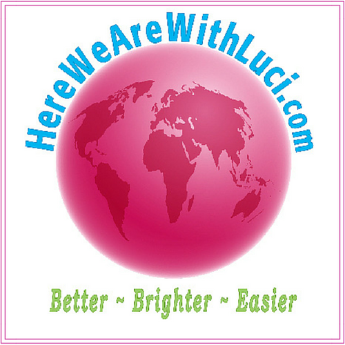 Here We Are... with Luci, Logo image from Life & Style Blogger, Luci Weston