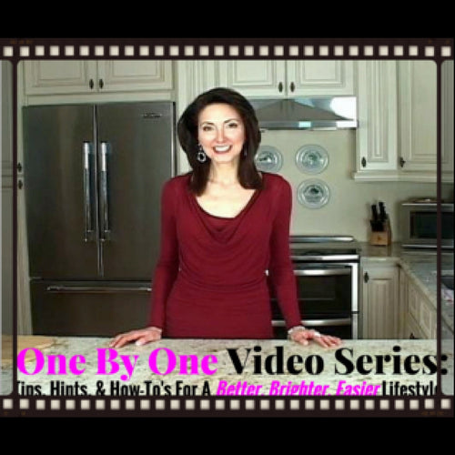 Luci Weston on set of One By One video series for Here We Are... with Luci blog