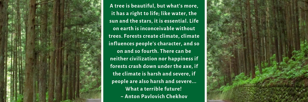 Tree quote Anton Chekhov